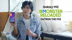 Samsung Galaxy M12| Sayani Gupta takes forward the #MonsterReloaded challenge from 89%
