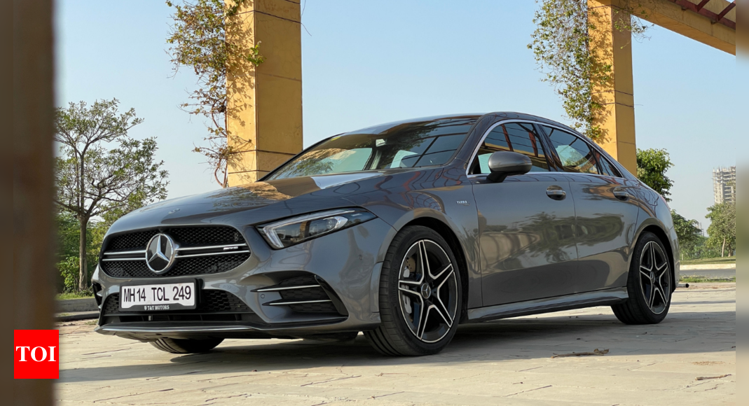Mercedes A35 AMG review: Recaliberating reference point of performance cars – Times of India