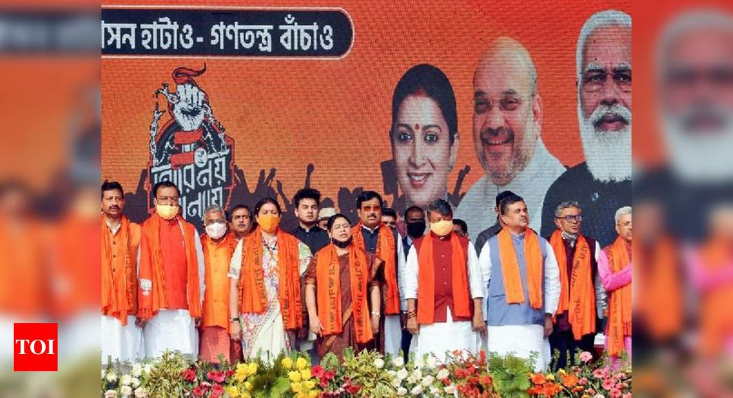 Rift between old-timers and new entrants cause of concern for Bengal BJP ahead of polls