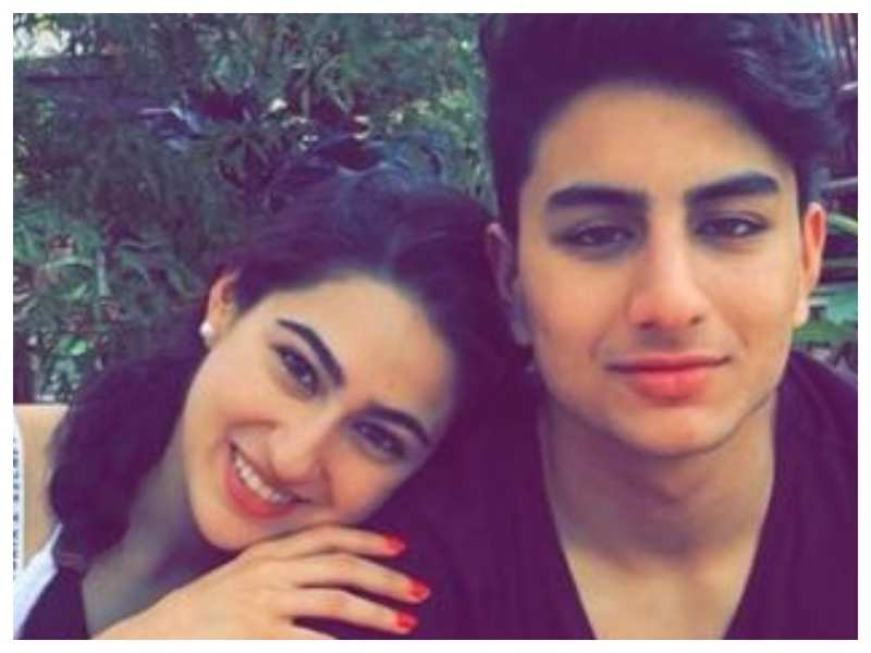 Sara Ali Khan shares a glimpse of her brother Ibrahim Ali Khan's personalised birthday cake and it is sure to blow your mind