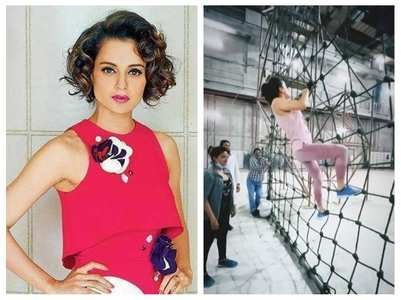 Kangana undergoes army training for 'Tejas'