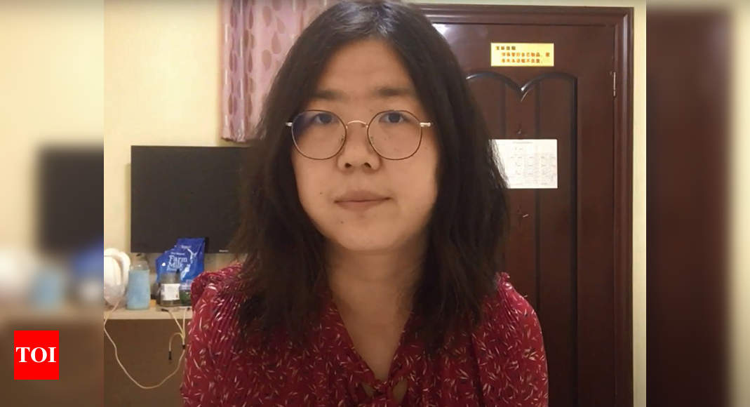 China's citizen journalist Zhan protests silently in jail