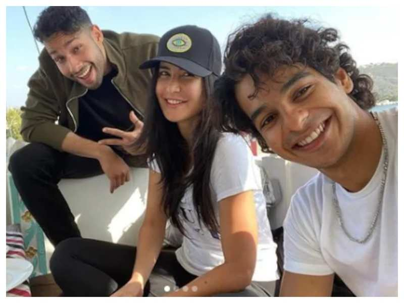 'Phone Bhoot': Ahead of their second schedule, an elaborate set is being erected at a Mumbai studio for the Katrina Kaif, Siddhant Chaturvedi and Ishaan Khatter starrer