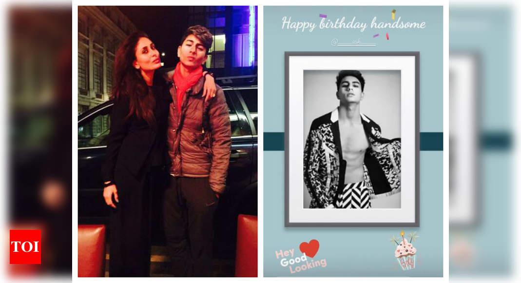 Kareena pens a sassy b'day wish for Ibrahim