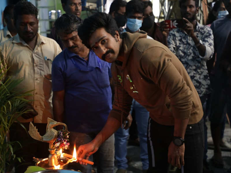 Vishnu Vishal's Mohandas shooting begins with a pooja
