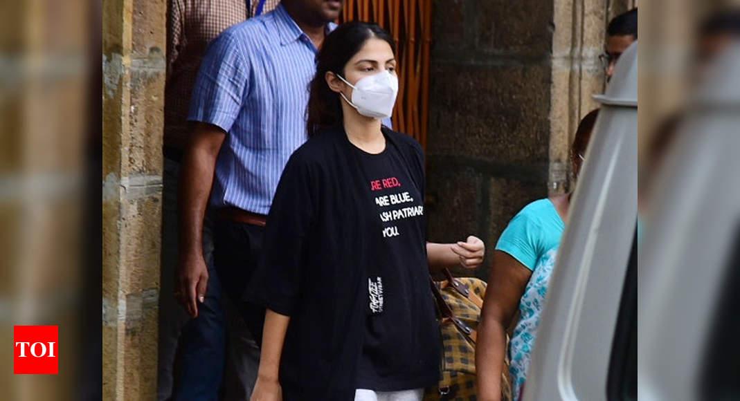 NCB chargesheet mentions Rhea Chakraborty