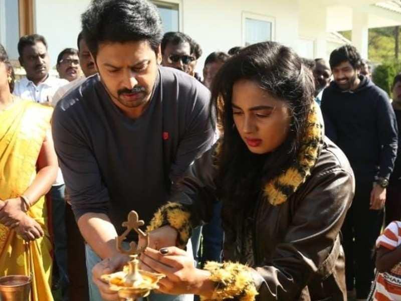 Srikanth and Srushti Dange team up for a suspense thriller