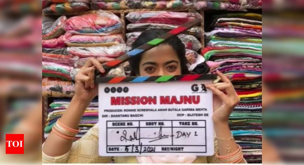 Rashmika begins shooting for Mission Majnu