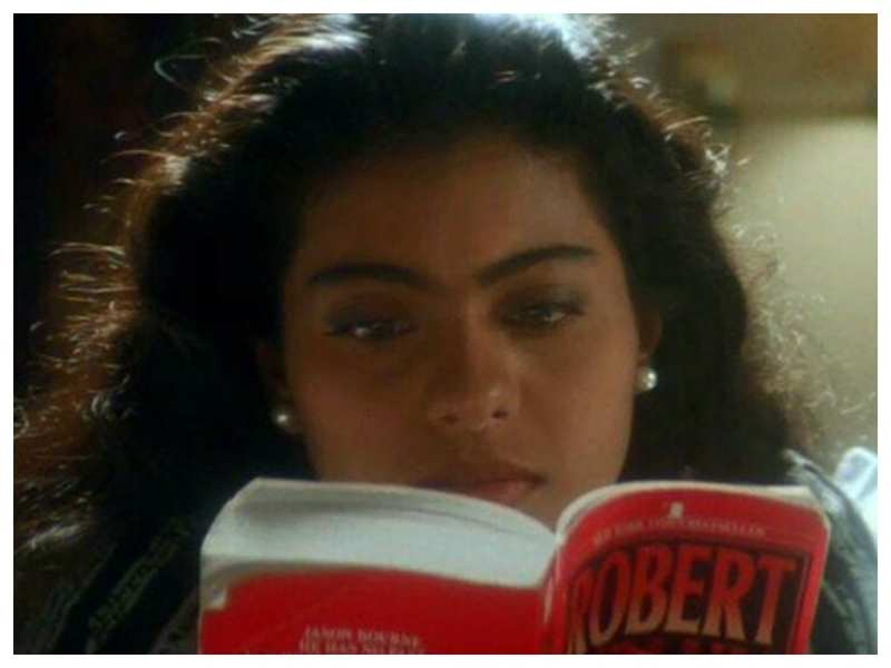 Kajol shares her love for books in yet another post, reveals her favourite word