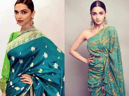 Deepika Padukone to Alia Bhatt: Royal green saris to take inspiration from for a summer wedding