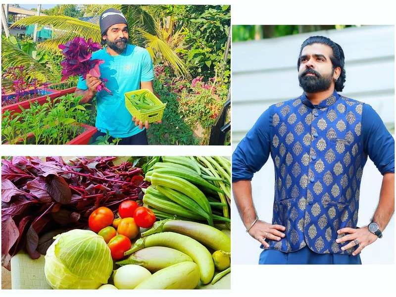 Deepan Murali: I get very tanned, but my vegetable harvest makes it worth it