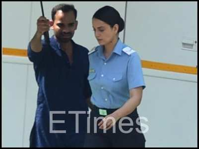 Tejas: Kangana marches on in Air Force uniform
