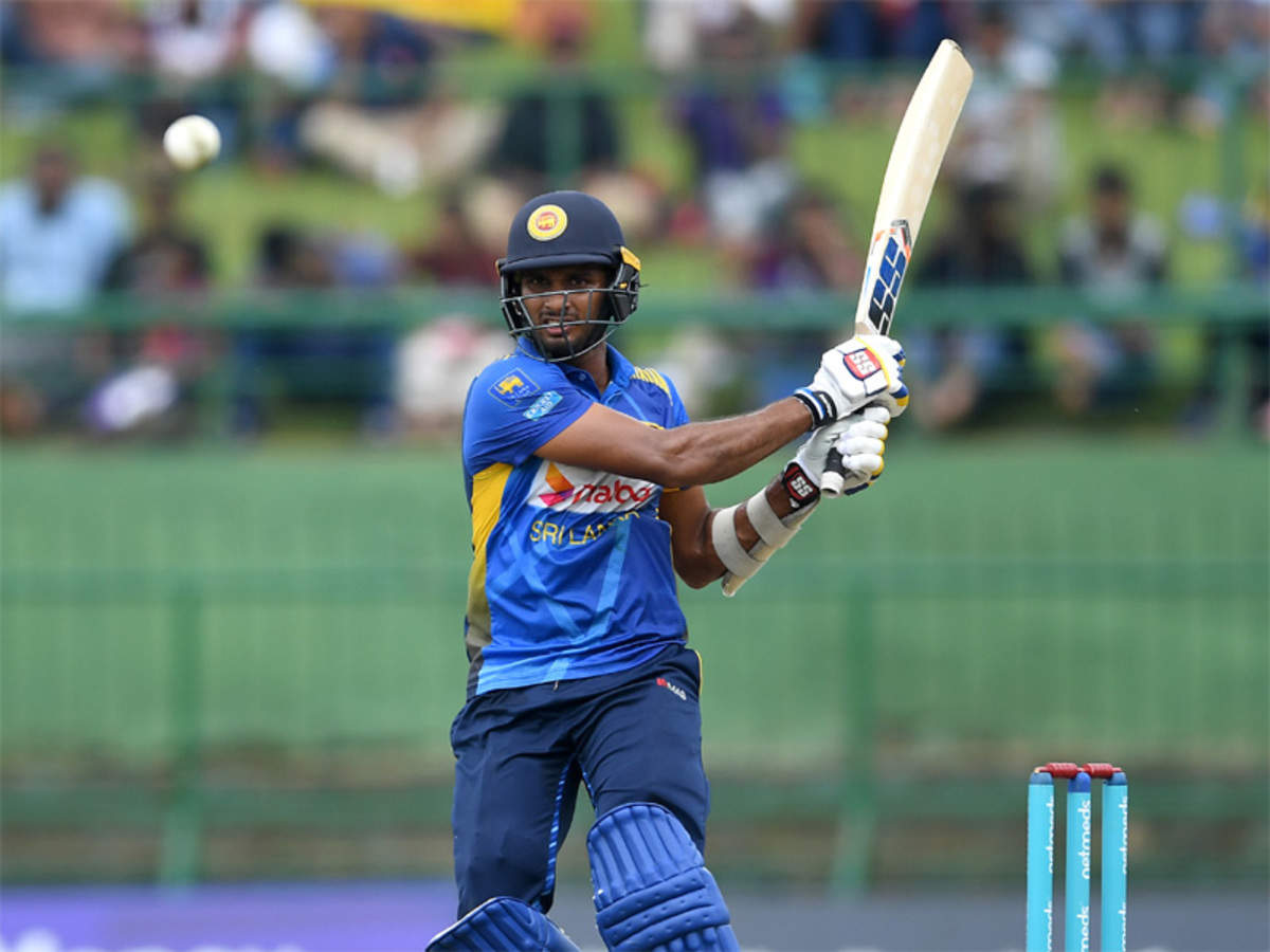 Sri Lanka's Dasun Shanaka cleared to travel to West Indies, will join team during ODI series   Cricket News - Times of India