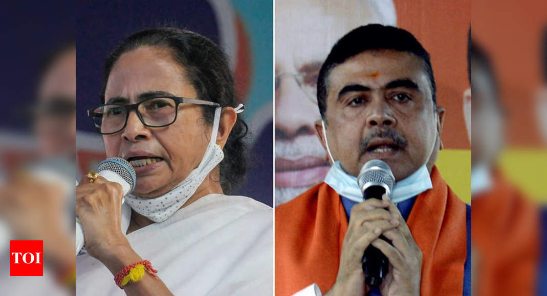 'Will see you on battlefield': Suvendu Adhikari welcomes Mamata's decision to contest from Nandigram | India News – Times of India