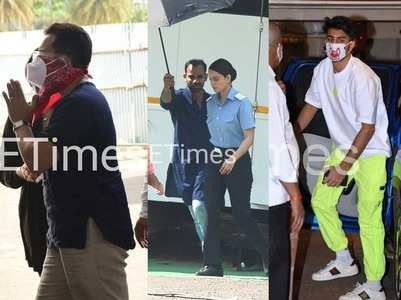 Pap diary: Saif COVID vaccine; Kangana on sets