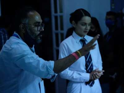 Kangana wraps up Mumbai schedule for Tejas