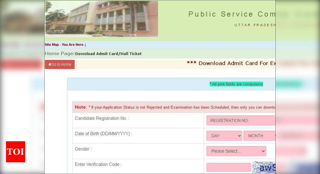 UPPSC Admit Card 2021: Download your hall ticket for various posts here – Times of India
