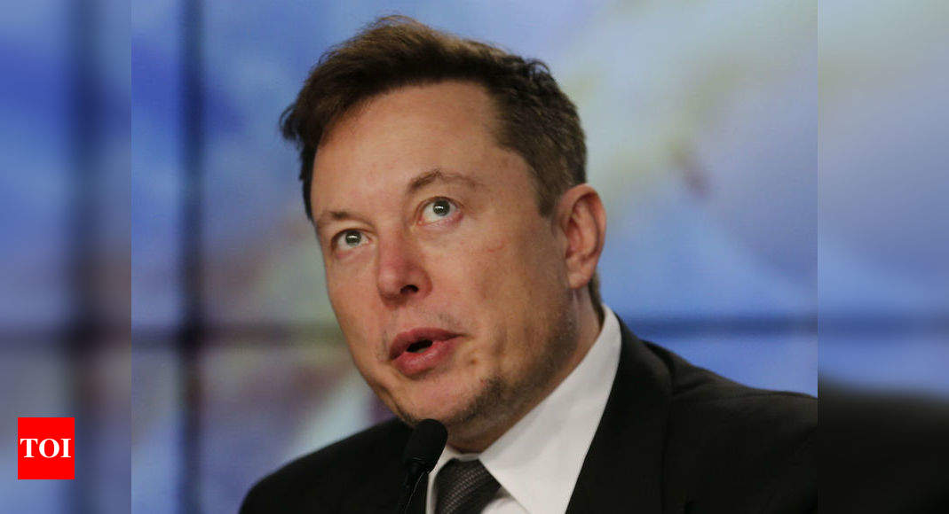 Tesla, Ford only carmakers not gone bankrupt: Elon Musk - Times of India