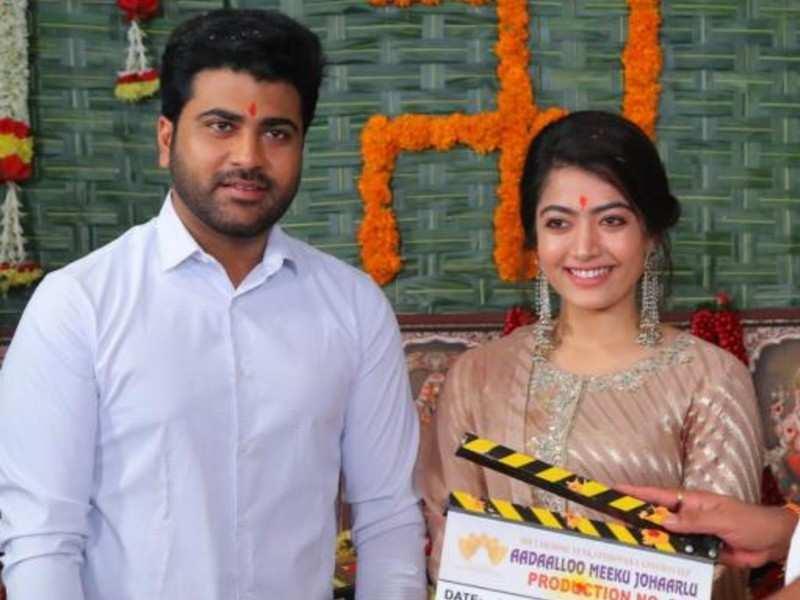 Can't wait to start this one: Rashmika Mandanna about Sharwanand co-starrer Aadavaallu Meeku Johaarlu