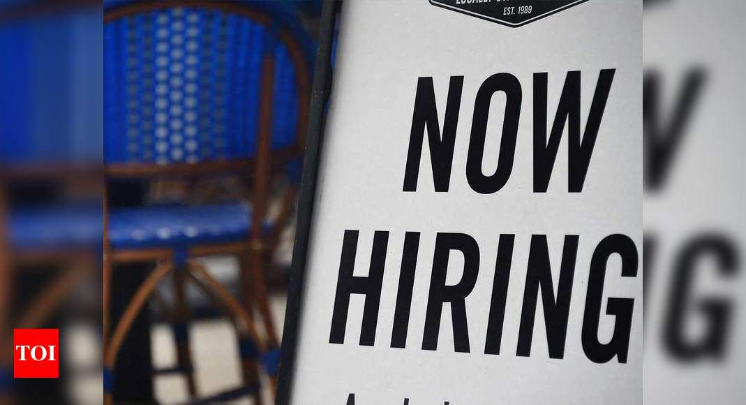 US hiring surges in February as Democrats move on stimulus – Times of India