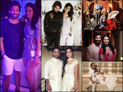 10 Years of Togetherness: Allu Arjun & Sneha