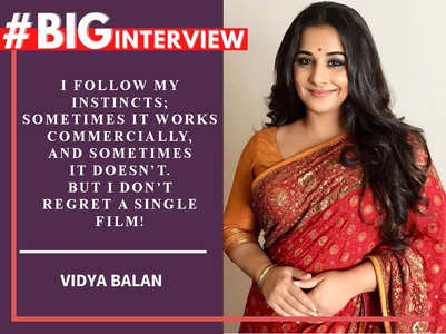 #BigInterview! Vidya Balan on her journey