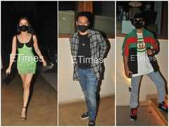 Shraddha, Ranveer attend Rohan's bday bash
