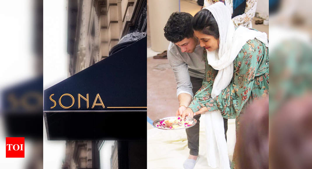 Priyanka Chopra set to open an Indian food restaurant in New York, shares pictures from pooja with Nick Jonas – Times of India