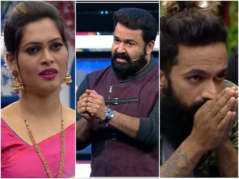 Bigg Boss Malayalam: Mohanlal dissects the brawl between Sajina and Sai, asks the latter whether Sai should continue in the show