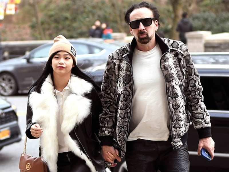 Nicolas Cage confirms marriage with Riko Shibata
