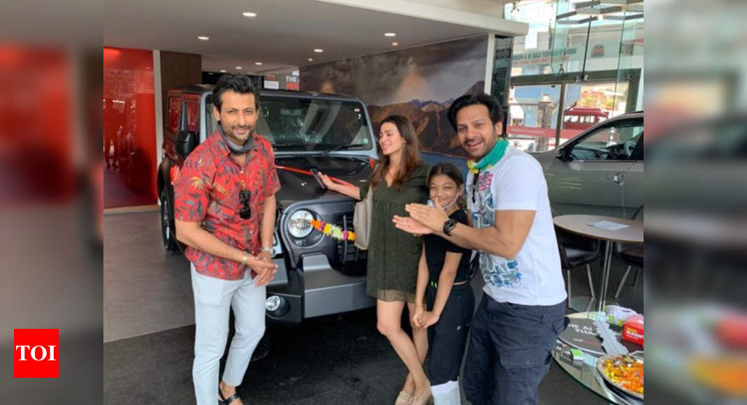 Exclusive: Barkha Sengupta gifts hubby Indraneil a car on their wedding anniversary; says 'It was so diff - Times of India