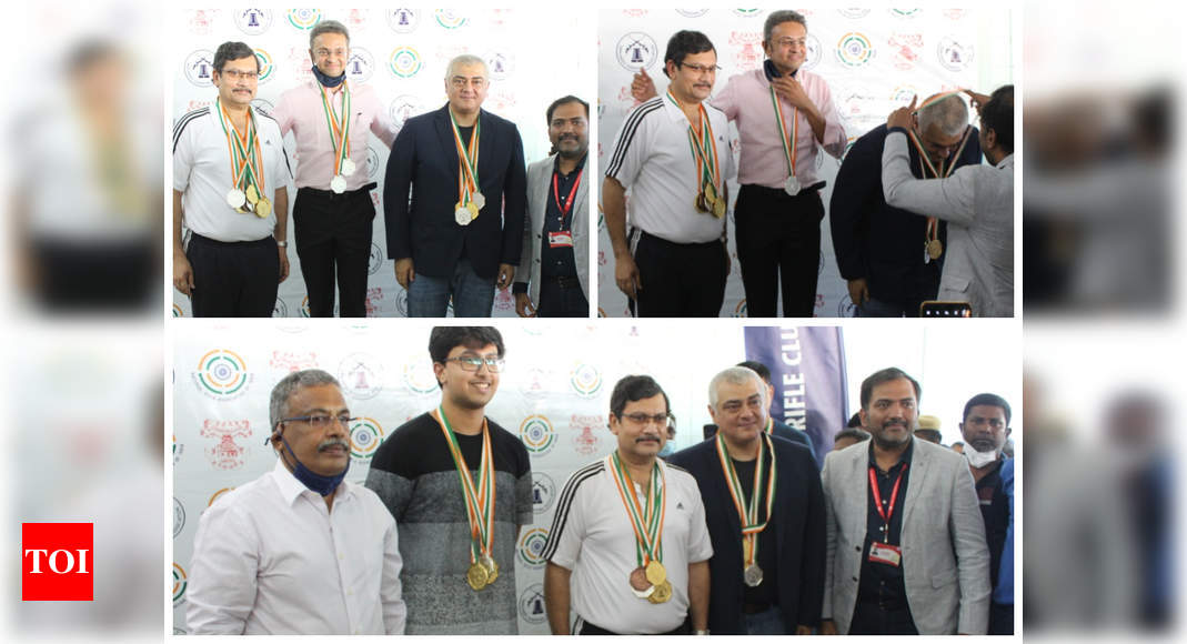 Ajith wins six medals as part of Chennai Rifle Club in shooting championship - Times of India