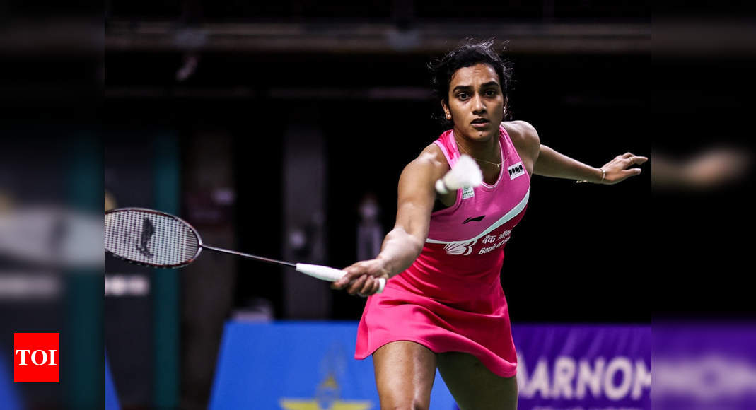 PV Sindhu loses to Carolina Marin in Swiss Open final - Times of India