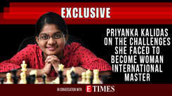 Priyanka Kalidas on the challenges she faced to become woman international master