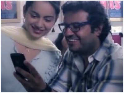 Kangana thanks director Vikas Bahl for Queen