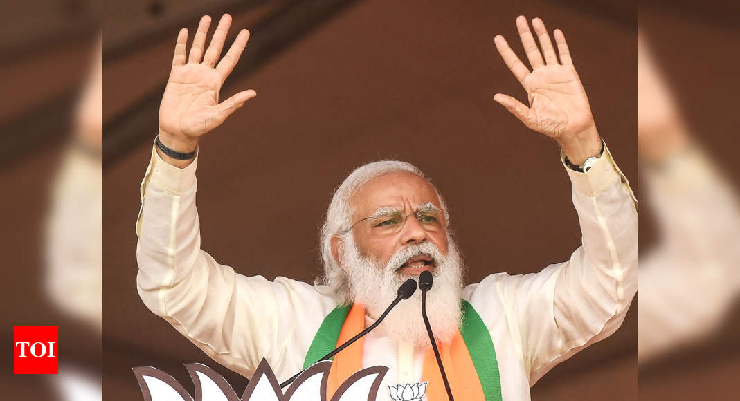 Your game's over: PM Modi targets Didi at massive Kolkata rally