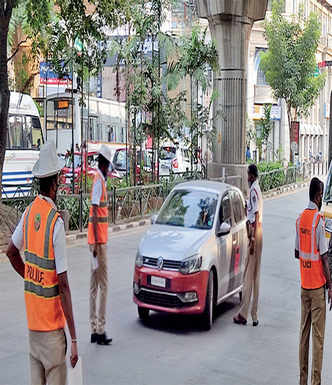 The sun never sets on Bengaluru's traffic checks