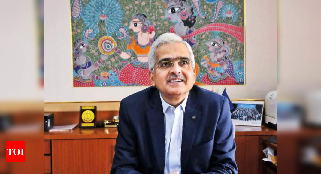 Central banks in no rush to raise rates, will back growth: Shaktikanta Das - Times of India