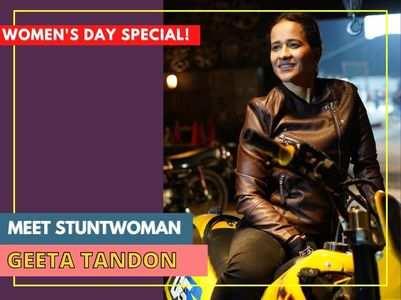 Women's Day: Meet stuntwoman Geeta Tandon