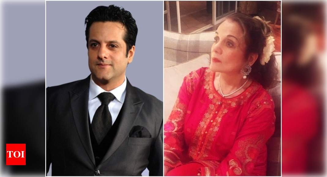 Fardeen Khan Birthday Exclusive: Mother-in-law, yesteryear actress Mumtaz enjoys cooking for the actor - Times of India