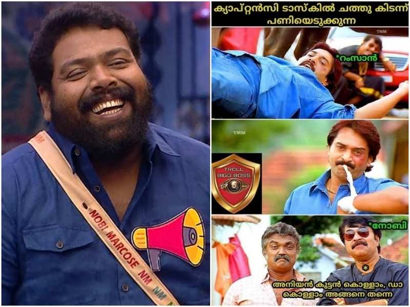 Bigg Boss Malayalam 3: Netizens tease Noby Marcose for winning captaincy without putting any effort