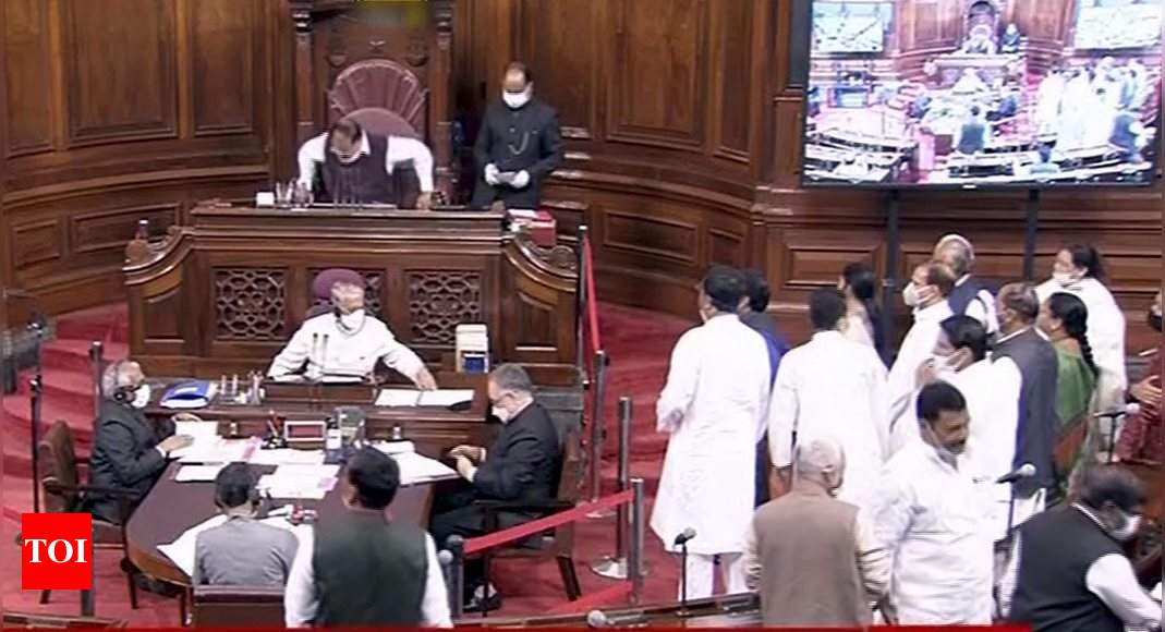 Rajya Sabha adjourns for the day; to meet at usual time