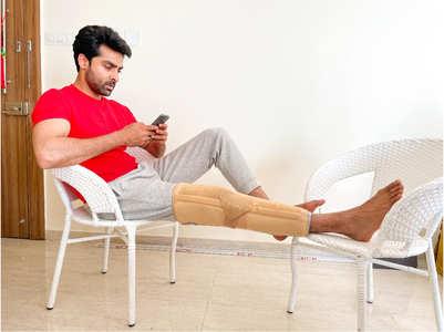 Adhvik Mahajan braves major knee injury