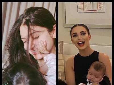 Adorable pics of actresses and their newborns