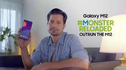 Samsung Galaxy M12| Sumeet Vyas strives hard for the #MonsterReloaded challenge Description