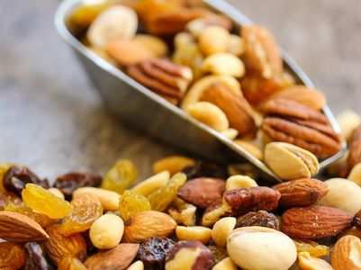 Dry fruits that can help you gain weight