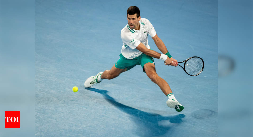 Djokovic sets all-time record for weeks at No. 1 - Times of India