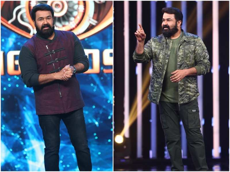 Here's all about host Mohanlal's fashion statement in the weekend episode of Bigg Boss Malayalam 3