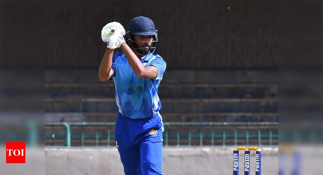 Vijay Hazare Trophy: Karnataka thrash Kerala, ton-up Padikkal sends message to selectors | Cricket News – Times of India