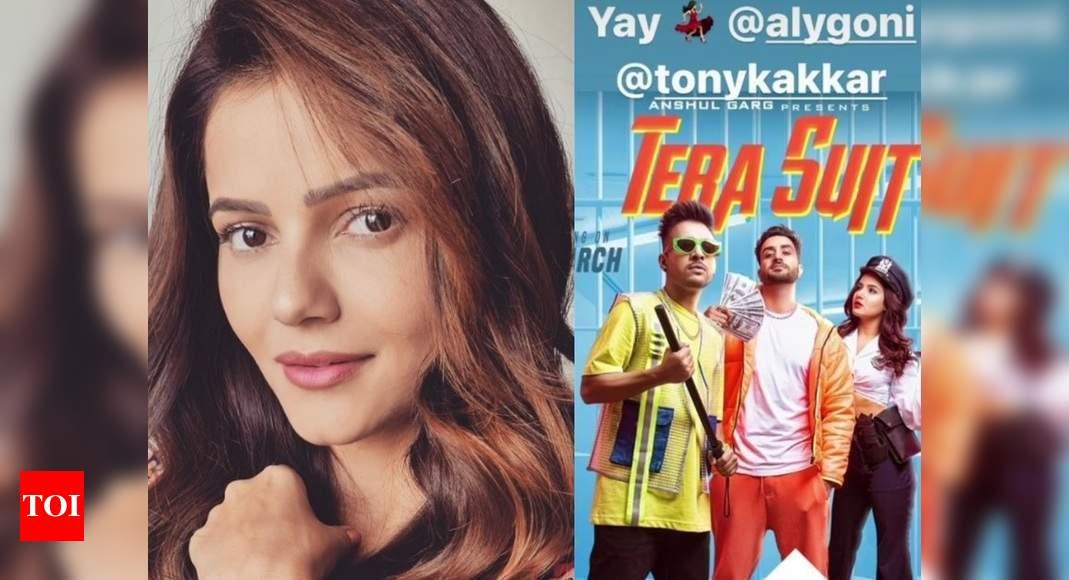 Bigg Boss 14 winner Rubina Dilaik cheers for Aly Goni and Tony Kakkar's new song; skips tagging Jasmin Bh - Times of India